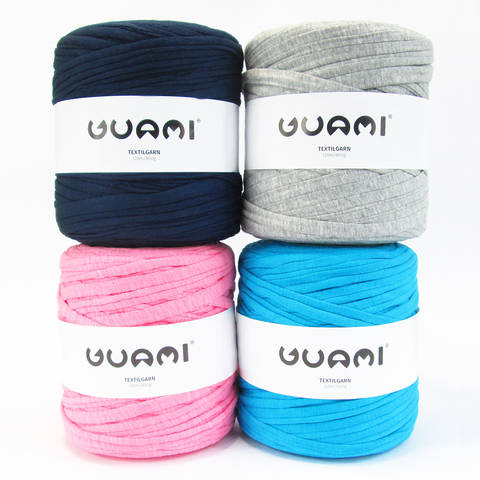 Guami Textilgarn: Recyceltes Jerseygarn im Makerist Materialshop