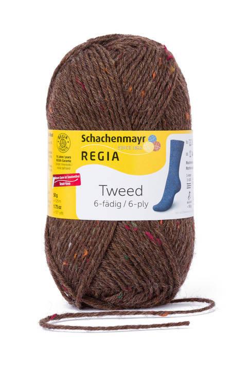 Regia 6fädig Tweed von Regia im Makerist Materialshop