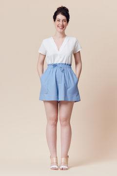 Patron pochette short ou jupe femme Goji par Deer&Doe dans la mercerie Makerist - Image 1