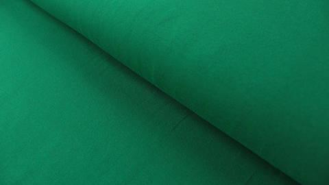Grüner Baumwolljersey: Green - 160 cm im Makerist Materialshop