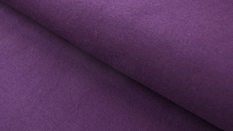 Dunkellila Baumwolljersey: Dark Purple - 160 cm im Makerist Materialshop