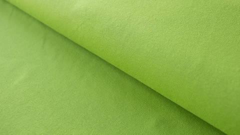 Grüner Baumwolljersey: Lime - 160 cm im Makerist Materialshop