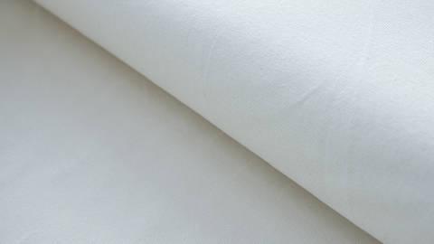 Jeysey de coton blanc uni - 160 cm dans la mercerie Makerist