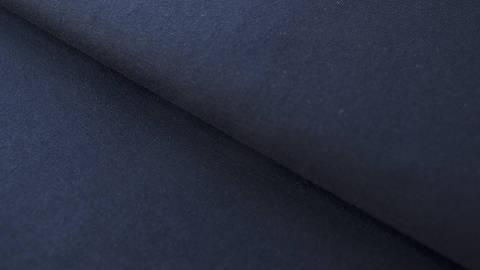 Nachtblauer Baumwolljersey: Dark Navy - 160 cm im Makerist Materialshop