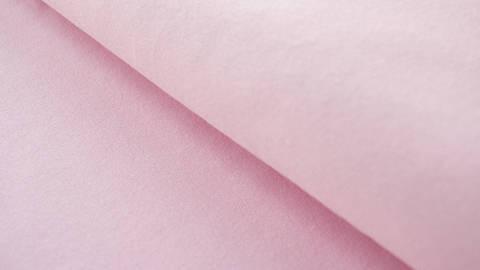 Rosafarbener Baumwolljersey - 160 cm im Makerist Materialshop