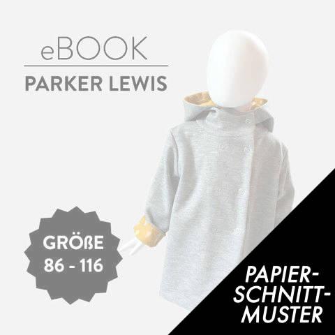 Gedrucktes Schnittmuster für: Wendeparka PARKER LEWIS Schnittmuster Größen 56 bis 116 im Makerist Materialshop