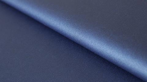 Dunkelblau beschichtetes Wachstuch: Luisa - 155 cm im Makerist Materialshop