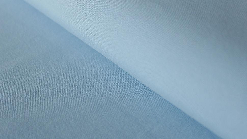 Hellblauer Uni Jerseystoff: Gitte - 160 cm im Makerist Materialshop - Bild 1