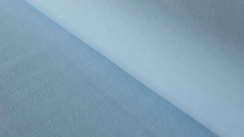 Hellblauer Uni Jerseystoff: Gitte - 160 cm im Makerist Materialshop