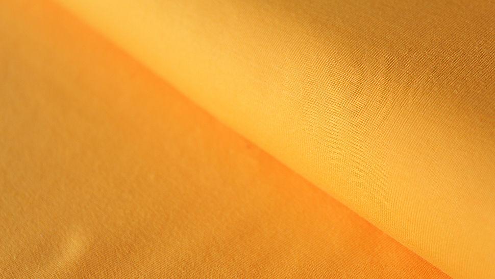 Gelber Uni Jerseystoff: Gitte - 160 cm im Makerist Materialshop - Bild 1