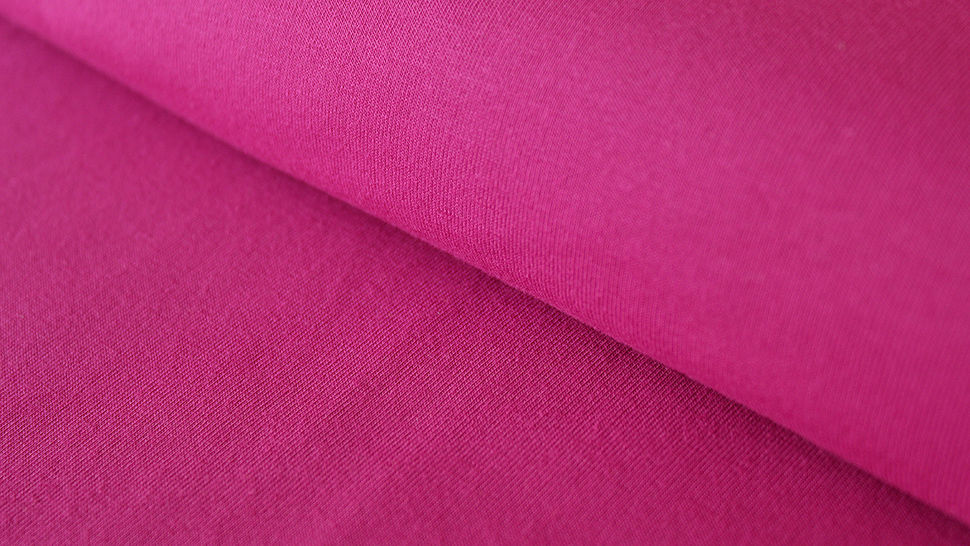 Purpurfarbener Uni Jerseystoff: Gitte - 160 cm im Makerist Materialshop - Bild 1