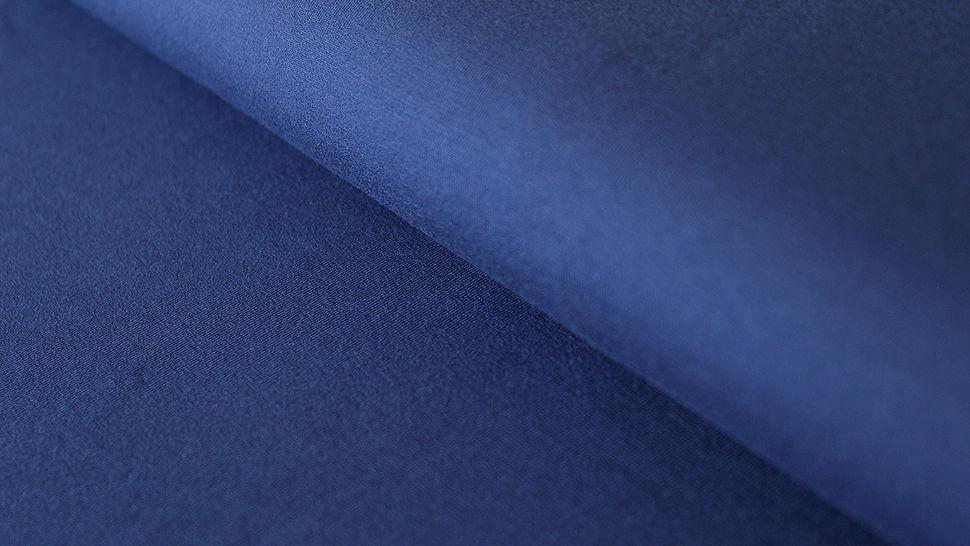 Viskosejersey uni dunkelblau: Ginza - 160 cm im Makerist Materialshop - Bild 1