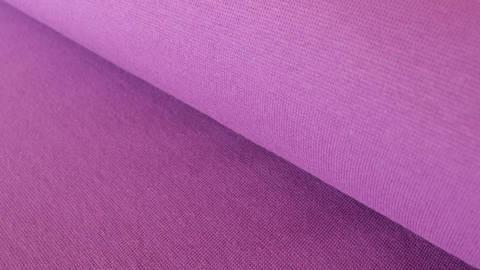 Bündchenstoff lila: Heike - 100 cm im Makerist Materialshop