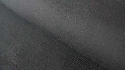 Jersey de coton noir : French Terry - 160 cm dans la mercerie Makerist