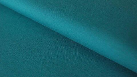 Jersey de coton bleu pétrole : French Terry - 160 cm dans la mercerie Makerist