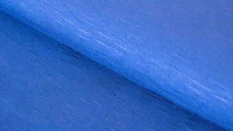 Royalblauer Viskose Slub Jersey - 150 cm im Makerist Materialshop