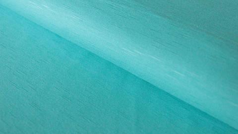 Türkisfarbener Viskose Slub Jersey - 150 cm im Makerist Materialshop