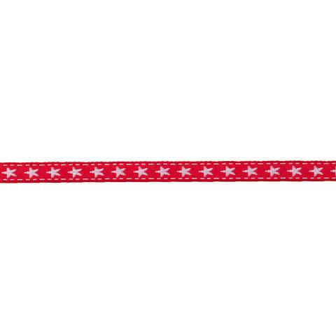 Borte mit Stern 10 mm rot/weiß im Makerist Materialshop