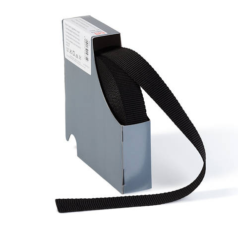 Gurtband für Rucksäcke 25 mm schwarz im Makerist Materialshop