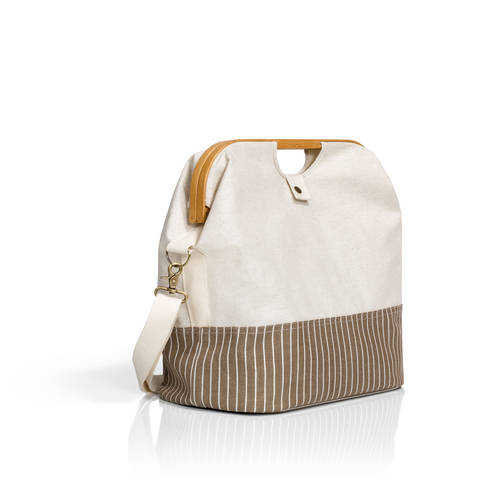 Store & Travel Bag canvas & bamboo S natur im Makerist Materialshop