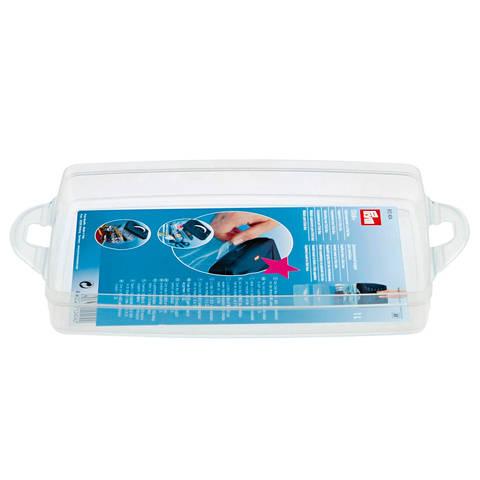 Ergänzungsmodul zu Click-Box 1 Liter ca. 24x16,5x3,5 cm transparent im Makerist Materialshop