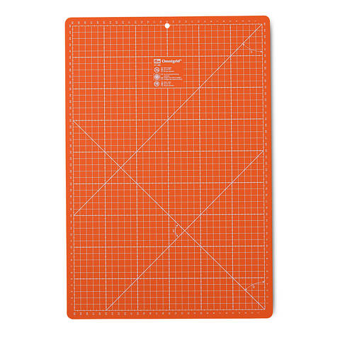 Schneideunterlage 30 x 45 cm cm/inch orange im Makerist Materialshop