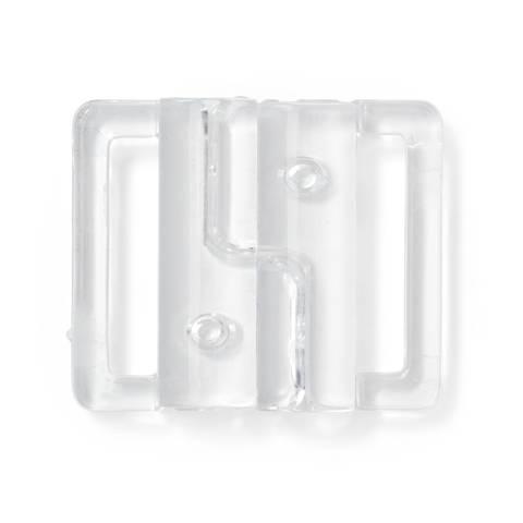 Bikini- und Gürtelverschluss KST 20 mm transparent im Makerist Materialshop