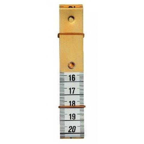 Maßband Profi mit Metallplatte 150 cm 60 inch (WW282330) im Makerist Materialshop