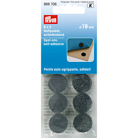 Haftpunkte selbstklebend schwarz im Makerist Materialshop
