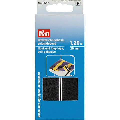 Haftverschlussband selbstklebend 20 mm schwarz (A968646) im Makerist Materialshop