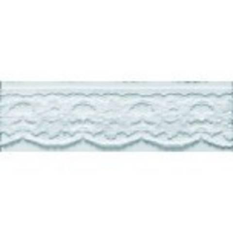 Wäschespitze 28 mm weiß im Makerist Materialshop