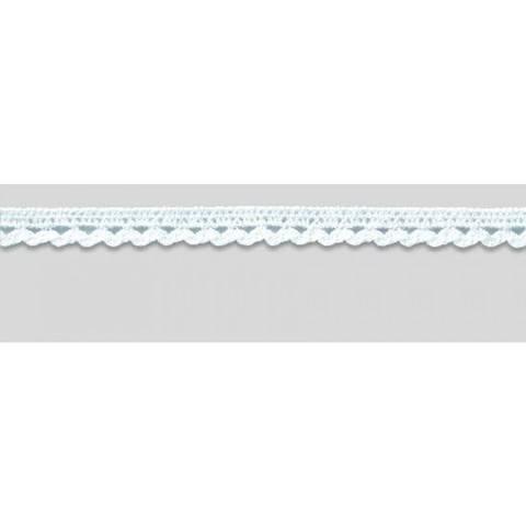 Klöppelspitze 10 mm weiß (A918400) im Makerist Materialshop