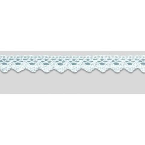 Klöppelspitze 20 mm weiß im Makerist Materialshop