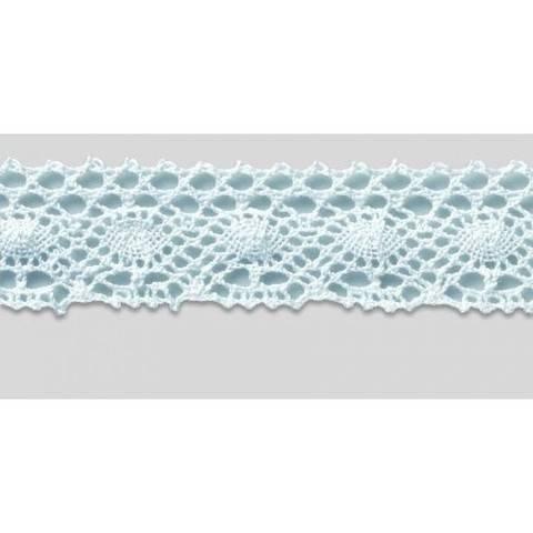 Klöppelspitze 45 mm weiß im Makerist Materialshop