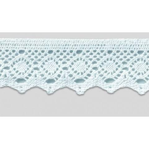 Klöppelspitze 55 mm weiß im Makerist Materialshop
