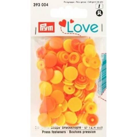 Prym Love Druckknopf Color KST 12,4 mm gelb im Makerist Materialshop