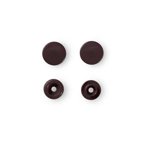NF Druckknöpfe Color Snaps rund 12,4 mm dunkelbraun 30 Stück im Makerist Materialshop