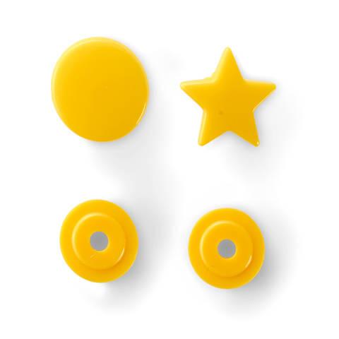 NF Druckknöpfe Color Snaps Stern gelb 30 Stück im Makerist Materialshop