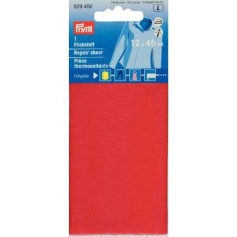 Flickstoff PES (bügeln) 12 x 45 cm rot im Makerist Materialshop