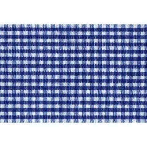 Flickstoff CO (bügeln) 12 x 45 cm blau/weiß kariert im Makerist Materialshop