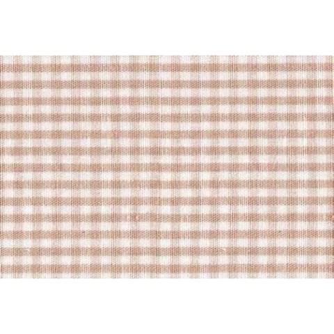 Flickstoff CO (bügeln) 12 x 45 cm beige/weiß kariert im Makerist Materialshop