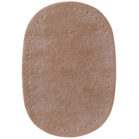 Patches Velourslederimitat 9 x 13,5 cm beige/braun/rot sort im Makerist Materialshop