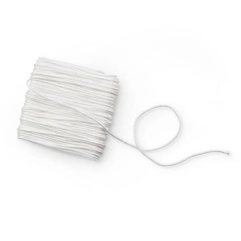 Raffrollokordel 1 mm weiß im Makerist Materialshop