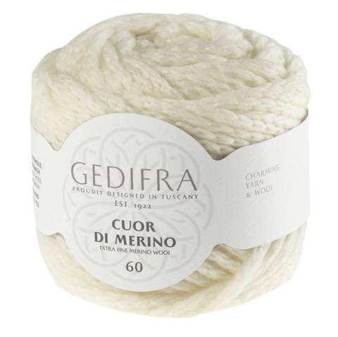 Cuor di Merino von Gedifra - 00209 wollweiß im Makerist Materialshop