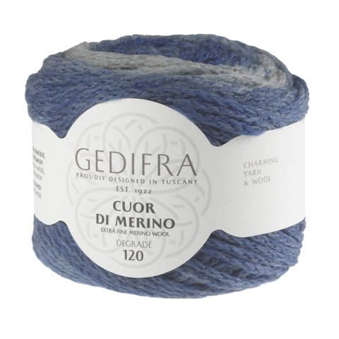 Cuor di Merino degradé von Gedifra - 01006 blau im Makerist Materialshop