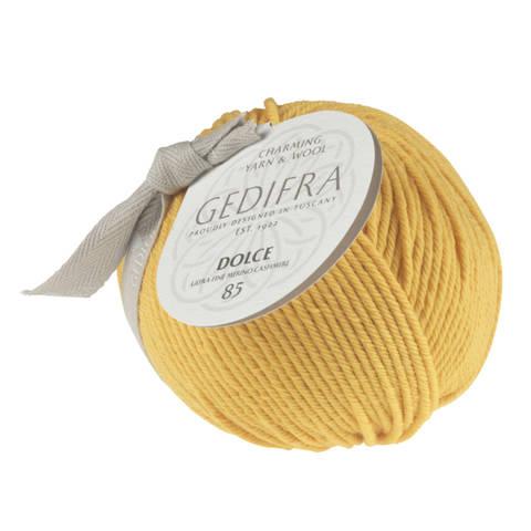 Dolce 85 von Gedifra - 00424 gelb im Makerist Materialshop