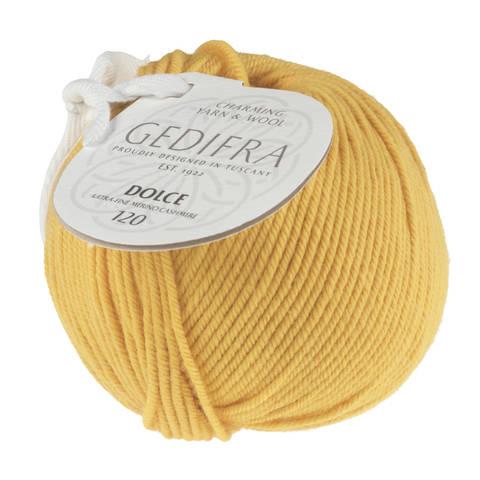 Dolce 120 von Gedifra - 00324 gelb im Makerist Materialshop
