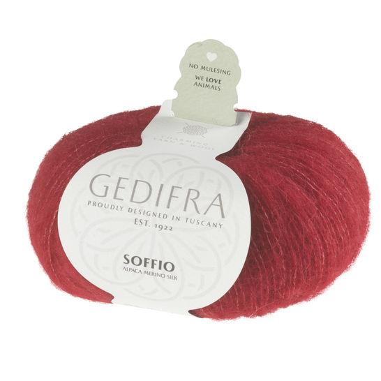 Soffio von Gedifra - 00608 rot im Makerist Materialshop - Bild 1