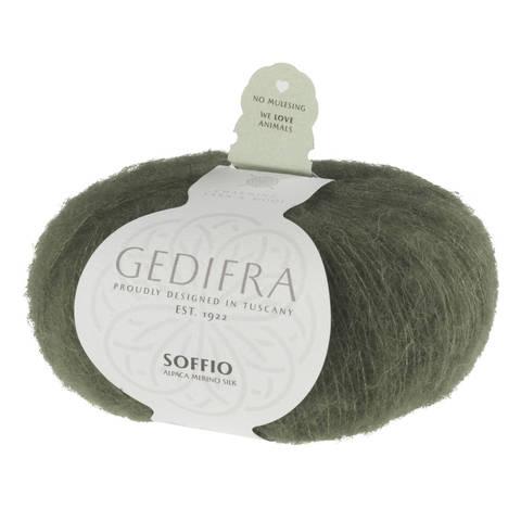 Soffio von Gedifra - 00623 dunkelgrün im Makerist Materialshop