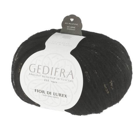Fior di Lurex von Gedifra - 00808 schwarz gold im Makerist Materialshop